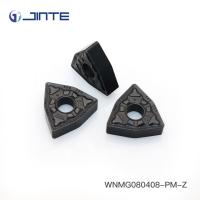 Buy cheap Triangle Carbide Turning Inserts Cutting Tools WNMG080408 - PM For Steel Machining product