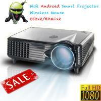 China Professional Good quality LCD LED video projector Android HDMI USB SD for 3D Home Cinema on sale