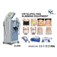 China Professional 4 Hand Pieces Cryolipolysis Fat Freezing Machine For Double Chin Removal wholesale