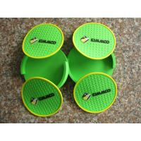 China Eco Friendly Silicone Cup Coaster / Coffee Pad Table Protector