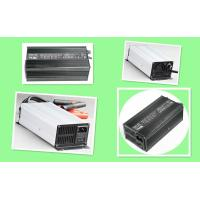 Buy cheap Intelligent 14V 15A Race Car Battery Charger 1.5 KG With Aluminum Black Silver Housing product