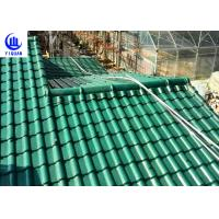 Buy cheap Upv Asa Coated Colonial Times Synthetic Spanish Roof Tiles / Plastic Tile Roof Panels product