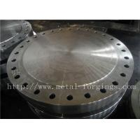 Buy cheap P355QH EN10273 Carbon Steel Forged Disc  Pressure Vessel Blank Flange product