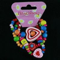 Buy cheap Children's Lovely Bracelets in Various Colors, Decorated with Various Fashionable Part product
