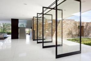 Buy cheap Fireproof Aluminium Pivot Doors , Anti Static Pivoting Wall System product