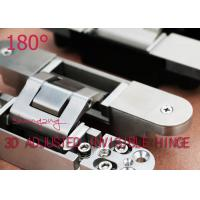 China Adjustable 180 Degree Opening Angle German Hinges For 40 Mm Door Thick wholesale