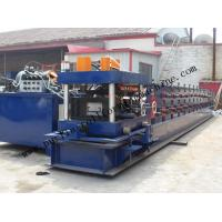 Buy cheap Hydraulic PLC Control Purlin Roll Forming Machine , Z Purlin Making Machine product