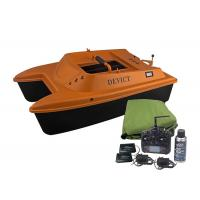 Buy cheap DEVICT bait boat orange / remote control fishing boat Lithium Battery Power product