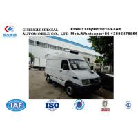 Buy cheap 2019s best price IVECO 4*2 LHD diesel refrigerated minivan  for sale, Wholesale price 2tons IVECO cold room truck product