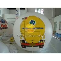 Buy cheap White PVC Large Printed Helium Balloons with UV protected printing for Opening event product