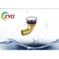 Buy cheap Brass Bathroom Bathtub Sink Drain Pipe Pop Up Drainage Waste Pipe product