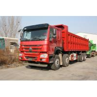 Buy cheap Howo 8×4 Heavy Dump Truck 50 Tons Loading For Mining Model ZZ3317N4267A / S0WA product