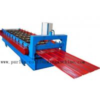 Buy cheap Metal Trapezoidal Cold Roll Forming Machine / Roofing Panel Roll Forming Equipment product