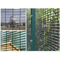"Buy cheap PVC Coated High Security Steel Wire Fencing Wire Fence Panel  4mm wire 3""*1/2"" Hole For Prison product"