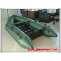 Buy cheap Sport PVC Boat with Plywood Floor, Army green color (Length:2.3m) product