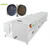 China Diesel Particulate Filter Cleaning Industrial Washing Machine With Drying system on sale