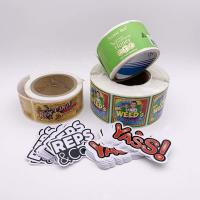 Buy cheap Canned Drink Juice Bottle Labels / Bottle Seal Sticker Adhesive Paper Material product