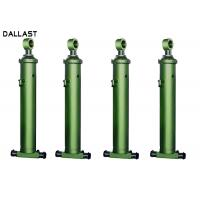 Quality Front End Chrome Telescopic Hydraulic Cylinder for Agricultural Farm Truck for sale