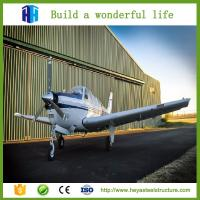 China Modern prefab steel building aircraft hangers steel shed building supplier on sale