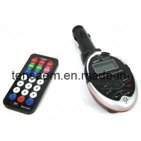 Quality Car Bluetooth MP4 WMA Wireless FM Transmitter for sale
