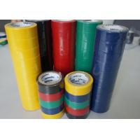 Buy cheap PVC Wire Harness Tape Rubbber Adhesibe Electrical Insulating Tape Black / Green Matte Film product