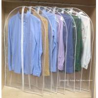China See-through PVC Dust-Proof Garment Bags, Personalized Household Garment Hanging Bags on sale