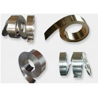 Buy cheap Thickness 0.2 - 0.5mm Metal Cold Roll, Precision 301 Stainless Steel Strip Stock product