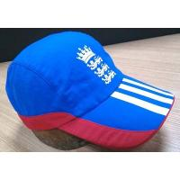 Buy cheap 2019 New Style 100% Cotton Golf Cap , Navy And Red Fitted Golf Hats Waterproof product