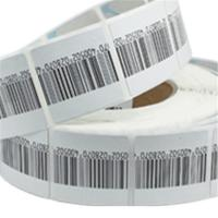 Buy cheap Customized Cloth Anti Theft Label For Retail Security With Barcode Printing product