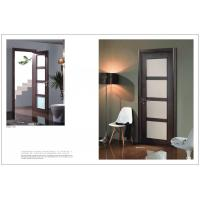 Buy cheap Sound Proof Side Hinged Door, 2050*800mm Fir Wood Vertical Hinged Door For Decoration product