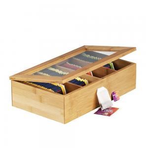 Buy cheap wholesale wooden tea box bamboo gift box product