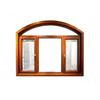 Buy cheap Wood Drain Frame Aluminium Casement Window Two Sides Open With Mesh product