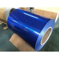 China Household Appliance Colored Stainless Steel Sheets Blue Color Weight ≤8T With PVC Film on sale