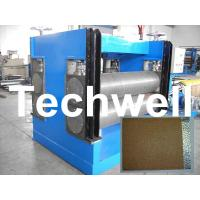 Buy cheap Color Steel Embossing Machine For Garage Door, Refrigerator, Decorative Materials product