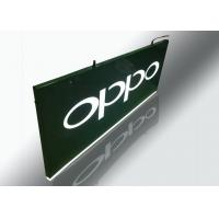 Buy cheap Hanging Light Box Signs , Lighted Outdoor Signs With Cutout Illuminated Letter product