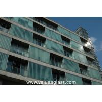 Buy cheap High Grade U Shaped Glass , Tempered Glass Panel With Smooth Surfac product