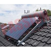 Buy cheap Integrated Pressurized Rooftop Solar Water Heater Silver Steel Outer Tank product