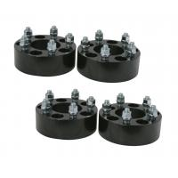 Quality Black Anodized 1.5 Inch Wheel Adapters 38 Millimeter Studs Nuts High Precision for sale