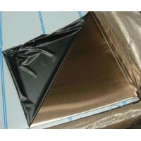 Buy cheap Bronze Finish Stainless Steel Sheet product