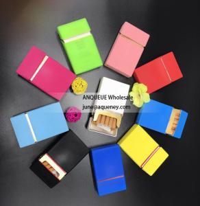 Buy cheap Silk print silicone cigaretter case, cigarette cover, cigarette box with different printing designs product