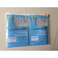 China Medicial Zippper Bubble Envelope , Biodegradable Bubble Wrap Mailing Envelopes on sale