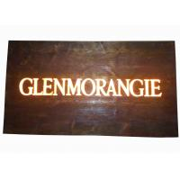Buy cheap Custom Resin Illuminated Wooden Signs Wall Mounted Personalized Bar Signs product