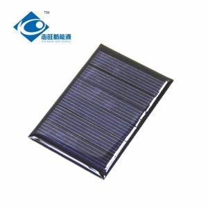 ZW-4060 cheapest Epoxy Solar Panel For instructional application 3V Mini solar panel photovoltaic 0.3Watt Peak Power
