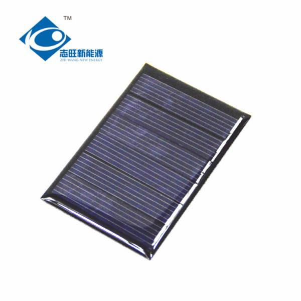 Quality ZW-4060 cheapest Epoxy Solar Panel For instructional application 3V Mini solar panel photovoltaic 0.3Watt Peak Power for sale