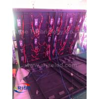 Buy cheap outdoor front-door service LED display p6 P10 Double face LED Freestanding Cabinet Sreen product