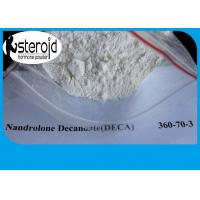 Buy cheap Bodybuilding Nandrolone Steroid Raw Testosterone Powder Nandrolone Decanoate 360-70-3 product