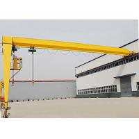 Buy cheap Industrial Semi Gantry Crane Single Girder Rail Mounted For Workshop Plant from wholesalers