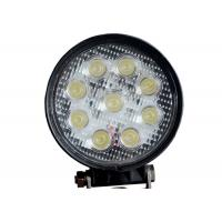Buy cheap Round 9 LED 12V LED Work Lights Cars 24v 4.5 Inch 27W With CREE Chips product
