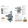 China  Pineapple Cake Making Machines / Cake Baking Equipment Encrusting  for sale