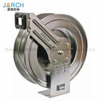 Buy cheap Automatic Retractable Hose Reel Stainless Steel Spring Loaded For Home from wholesalers